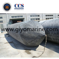 ship balloon , marine balloon for ship launching 2 .0m x 18.0 m , 10 layers