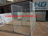 Galvanized after Welding Metal Dog Cages