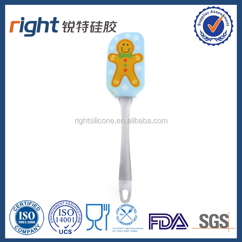 Perfect Gingerbread Man Silicone Scraper - Essential Cooking Gadget and Bakeware Tool