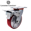 Caster wheel for axel