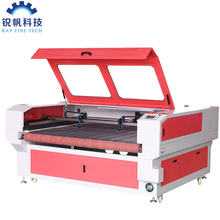 Double heads fabric laser cutting machine price RF-1610-CO2-80W