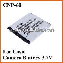 For Casio NP-60 Replacement Battery 3.7v