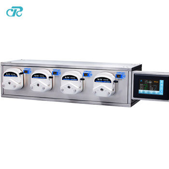 multi channels peristaltic pump filling system for automatic liquid drug