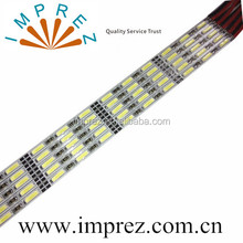 3mm 4mm thickness SMD7020 5630 8520 led light strip bar