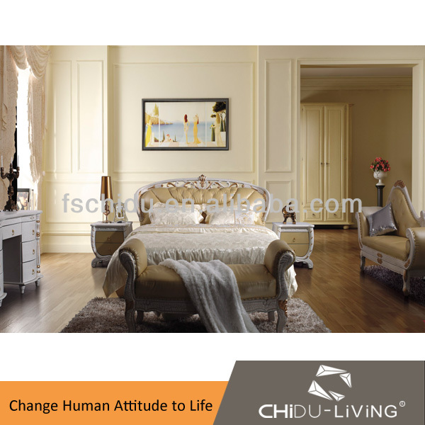 A8122 antique reproduction bedroom furniture, elegant bedroom furniture sets, french antique reproduction bedroom furniture