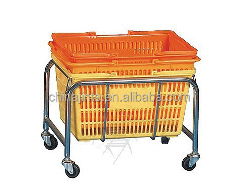 shopping basket Plastic basket holder