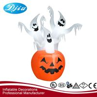Best seller special design ghost&pumpkin inflatable halloween decorations for sale