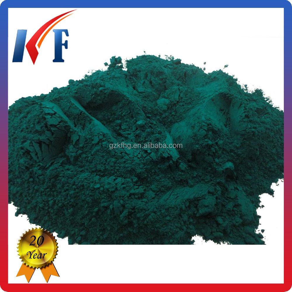 Organic Bright color Pigment Phthalocyanine Green for Concrete