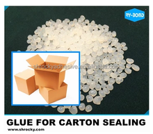 Cardboard carton box folding gluing hot melt glue adhesive