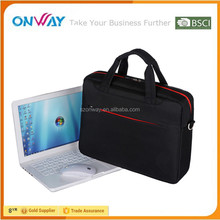 "17"" Large Capacity Briefcase Single Shoulder Messenger Bag Custom Laptop Computer Bag"