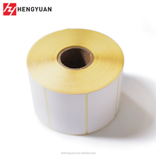 Adhesive Thermal Label Sticker 75*30 Thermal Linerless Label