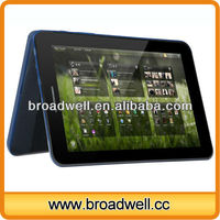 Built-in 3G GPS Bluetooth FM 7 inch MTK8389 Quad Core touch tablet with sim card dual camera