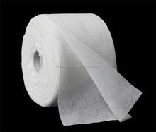 White mesh spunlace nonwoven soft towel roll