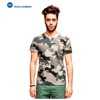 Alibaba China Supplier Custom Polyester Full Printed Men Camouflage T-shirts