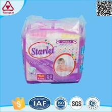 ISO9001 Super Blue Absorbent Core Disposable Sleepy Baby Diaper Market