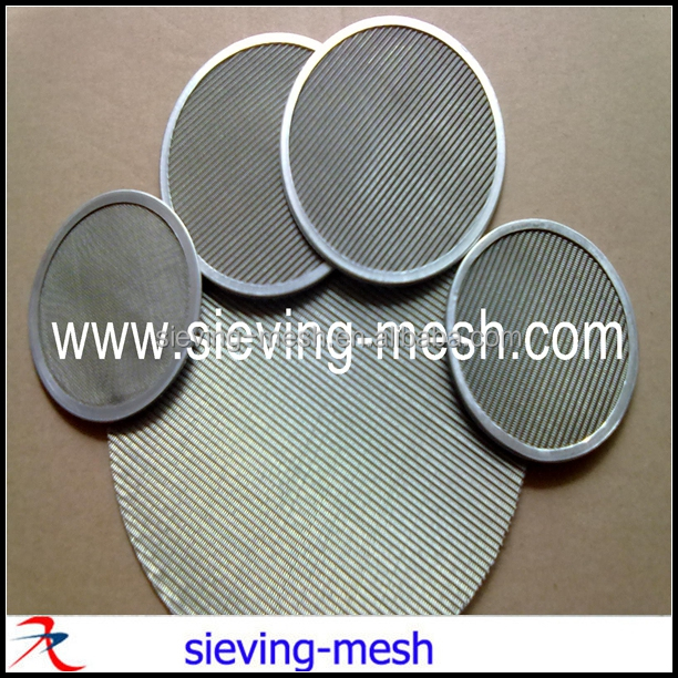 3 inch round steel filter discs, ss 3 inch filter mesh packs, metal wire mesh filters