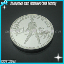 Music dance king of tock n roll coin