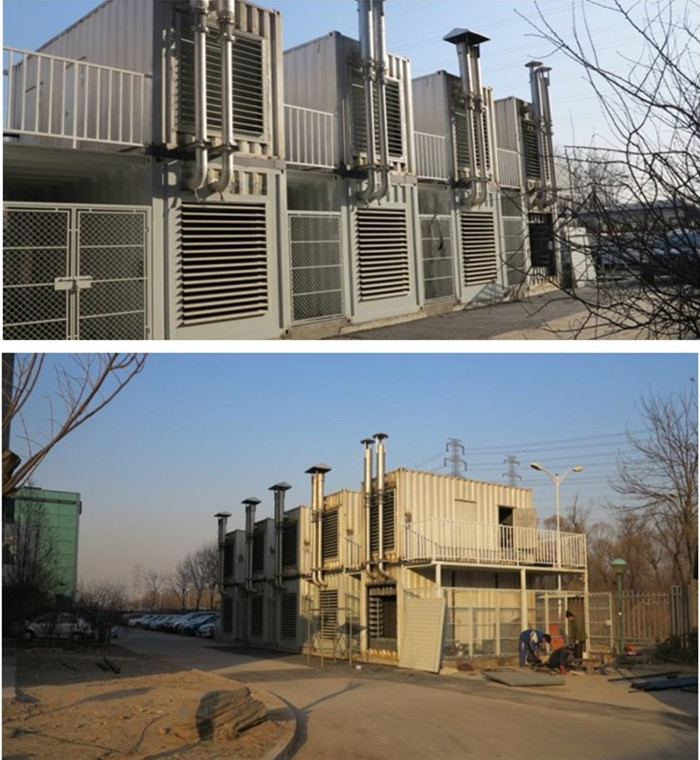 CE/ISO Certificated 576KW Silent/Open Type Diesel Generator Set