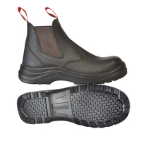 Slip On Safety Boot Safety Grip Slip Resistant Footwear