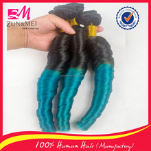 2016 best selling wholesale hair product brazilian human hair sew in weave ombre hair