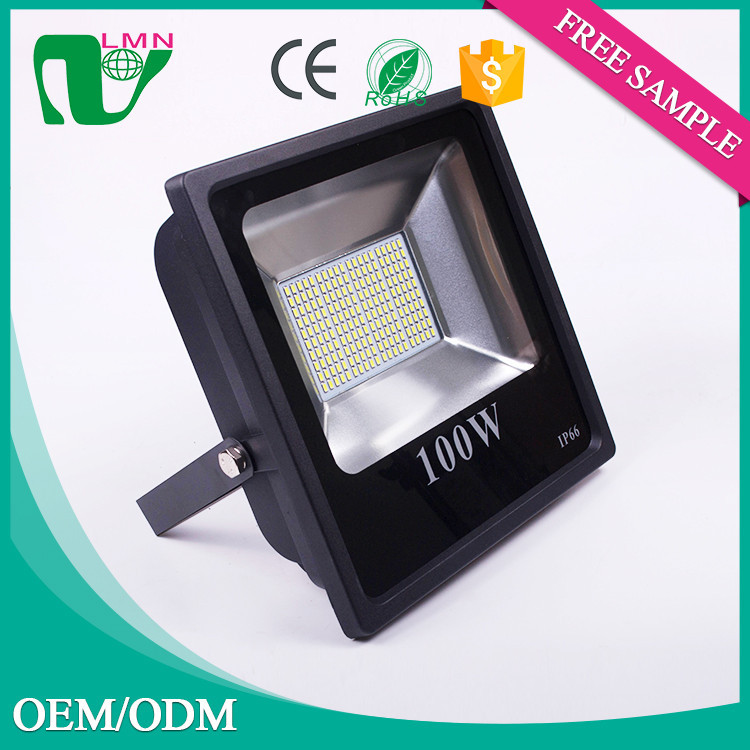 100w RGB Security Led Flood light 12V Color Changing Outdoor IP66