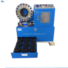 China machinery Topa HCM-160 hydraulic hose fitting machine