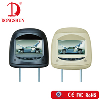 "7"" Car Universal Headrest Monitor with Touch Button/Hannstar LCD panel /Built in speaker (Optional)"