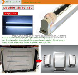double sided emitting led tube, pure white 1200mm led t10 light