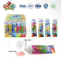 Cartoon Monster Toothpaste Sweet Fruit Powder