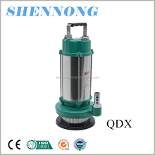 best price good performance QDX aluminum low pressure submersible clean water pump