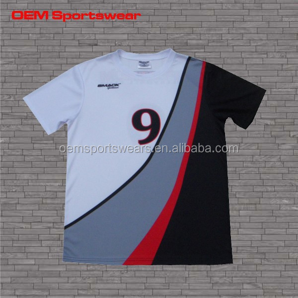 polyester sublimated t-shirt for sportswear