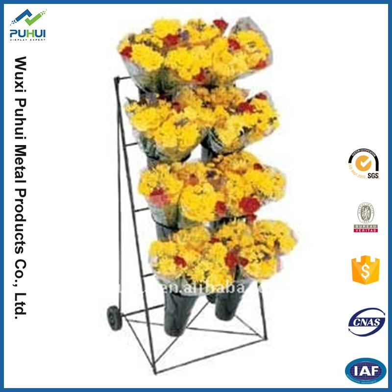china manufacturer garden mounted wire rack corner stand wire rack