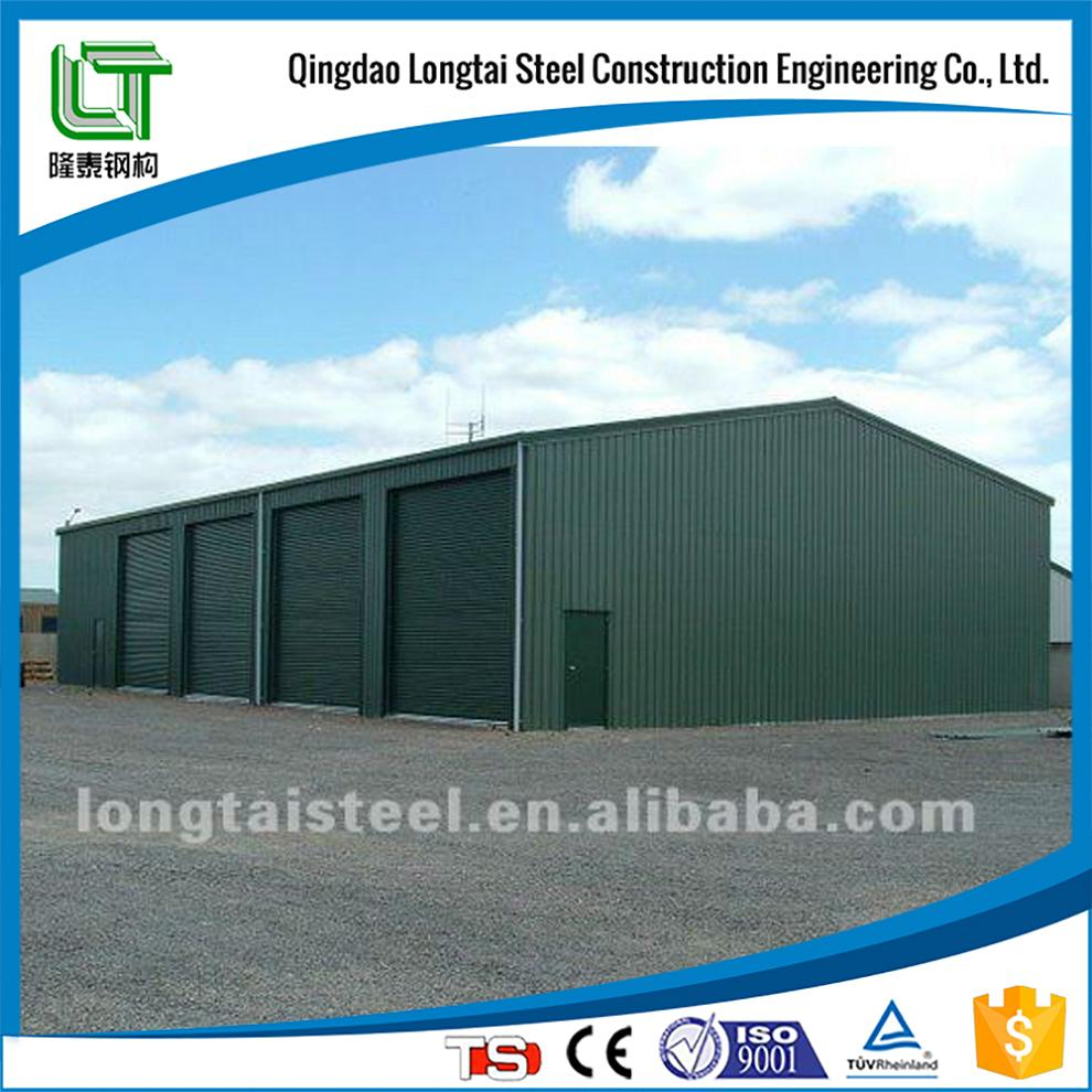 prefabricated long-span light steel structural warehouse building