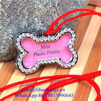 bling bling various dog tag id, animal theme dog tag, free mould bone paw round shape engravable pet id tags