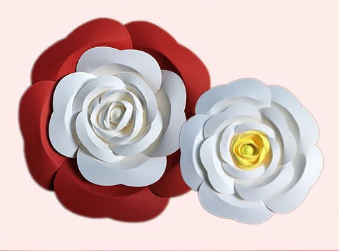 wholesale backdrop paper flower for wedding