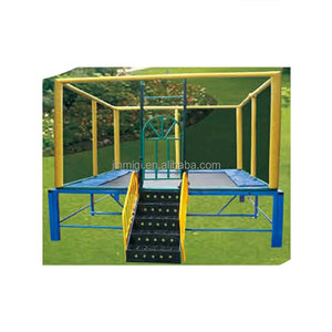 Professional design selling trampoline is used in indoor trampoline park