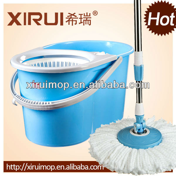 2013 newest design double top spin mop 360 degree supa mop convenient cleaning mop