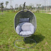 Hot Sale Wicker Garden Swing Hanging Chair DW-HC1195