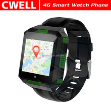 UNIWA M9 IPS capacitive touch screen MTK6737 Quad core Android 6.0 IP67 Waterproof 4g wrist watch mobile phone