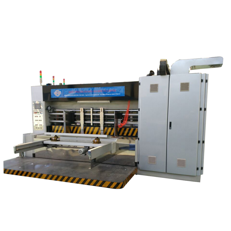 The SUN company USA feeding unit,can achieve the high speed high definition printing machine for corrugated cardboard