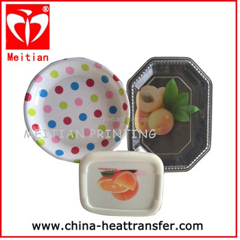 In Mold Label,Strong Adhesive,widely used for plate packaging