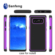 Durable Non Slip Ball Dots Textured Shockproof Slim Armor Mobile Phone Case for Samsung Galaxy Note 8 Protector Case