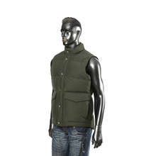 Cheap custom lightweight sleeveless mens cotton jacket