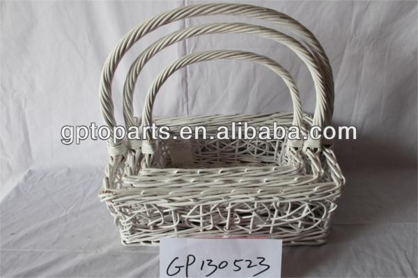 wicker basket crafts handmade fruit rattan basket willow basket