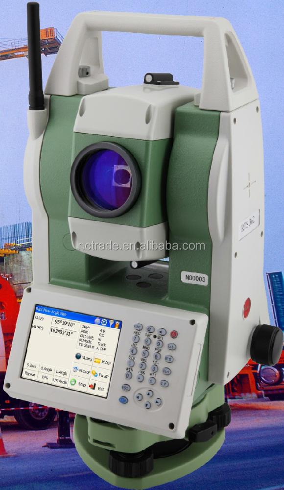 Windows CE 5.0 operating system rts 362 foif total station