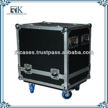 Flight Case for JBL Speakers with 4 inch Casters