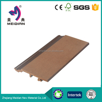 Fully recyclable Long lifetime wpc modern exterior wall cladding building materials