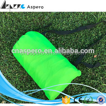 High quality cheap camping laybag lazy bag inflatable sleeping bag portable air sofa Fast Inflatable lazy air bag