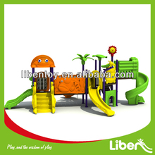 2013 Hot Style Big Outdoor Game LE.DW.003 Animal Fairyland Series Playground with TUV for play area