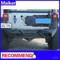 new design for jeep wrangler rear bumper with led light
